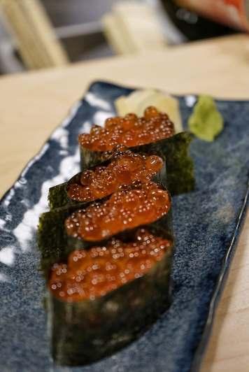salmon roe $3/ea